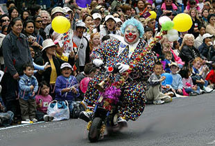 Professional Entertainer BJ The Clown is the Secretary of the Shore City Magicians Club, based in Auckland New Zealand