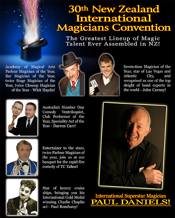New Zealand's Auckland Magicians Club and Magic Show
